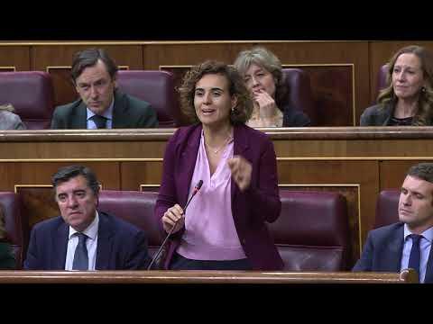 """Dolors Montserrat: """"Nunca en nueve meses se había hecho tanto daño a España"""""""