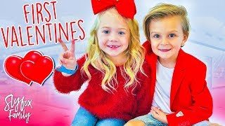 Video Caspian and Everleigh's First Valentine Date!! ❤️ | Slyfox Family MP3, 3GP, MP4, WEBM, AVI, FLV Februari 2018