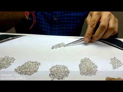 DIAMOND PRICE UNDERSTANDING  OF DIFFERENT QUALITY VVS VS SI WHITE  LIVE ASSORTMENT