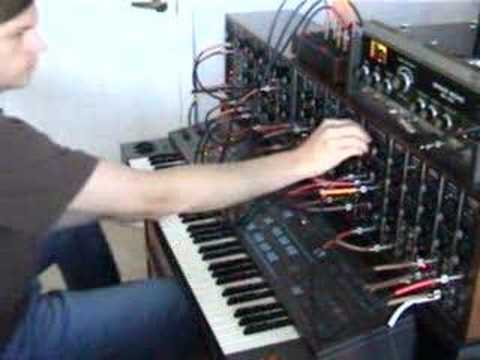 synth - MooT BooXLe performing on the Synthesizers.com modular analogue synthesizer. This is not a perfect performance, as it was improvised in one go. Also function...