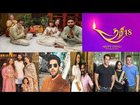 Armaan Malik Amaal Mallik Amp Celebrities Diwali Celebrations Photos 2018 Happy Diwali To All