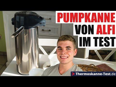 Alfi Getränkespender - Die Pumpkanne von Alfi im Test!
