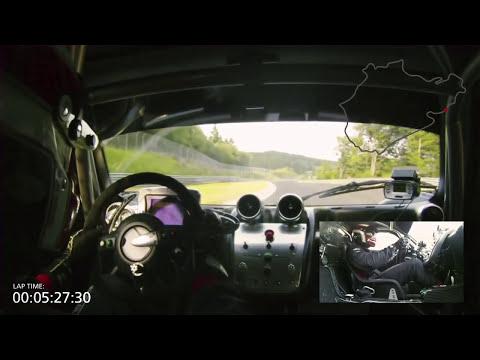 Pagani Zonda R – Nurburgring lap