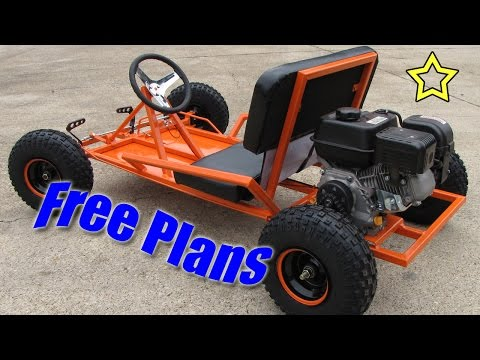 Wooden Go Kart Plans Woodworking DIY Plan