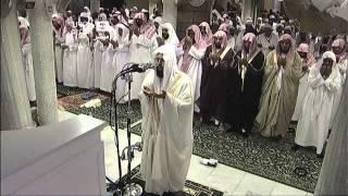 HD| Night 3 Makkah Witr 2013 Sheikh Khalid Ghamdi