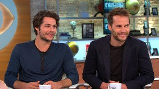 Dylan O'Brien and Taylor Kitsch talk