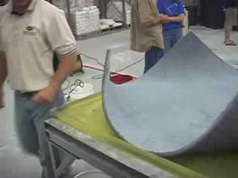 Bending Concrete into Furniture WOW MUST SEE - Surecrete's
