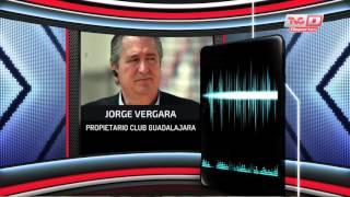 Entrevista a Jorge Vergara en TVC Deportes Al Día