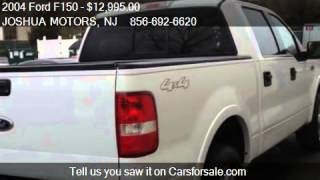 2004 Ford F150 FX4 SuperCrew 4WD - for sale in VINELAND, NJ