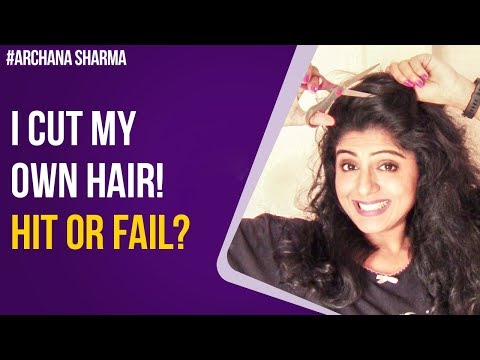 Curly hairstyles - Layered Haircut For Long Length Curly Hair  How to Cut your Hair  Hair Care Tips  Archana Sharma
