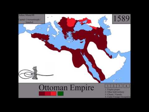 The History of the Ottoman Empire: Every Year