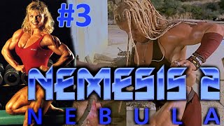American bodybuilding babe Sue Price in Nemesis 2: Nebula. Part #3