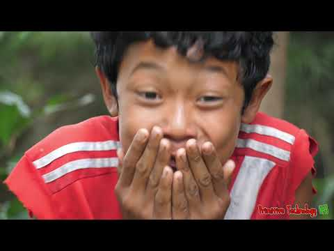 Primitive Technology - Eating Delicious In Jungle - Cook Giant Squid With Mushroom For Food #195