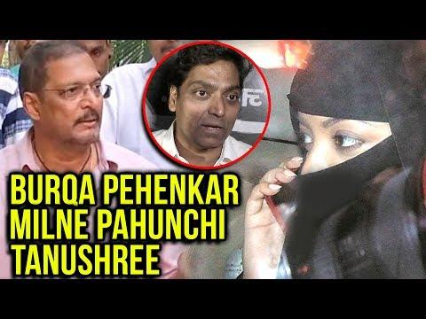 Tanushree Dutta Hides Face In Burqa, Files FIR Aga
