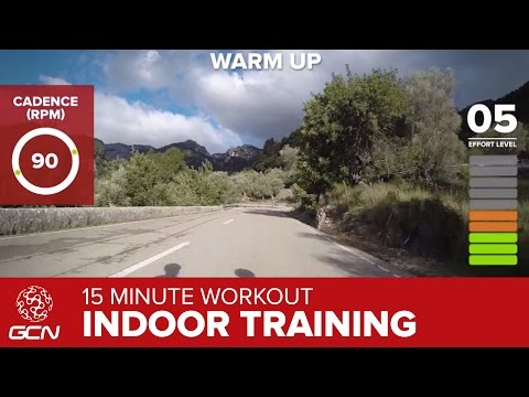 15 Minute Workout – Best Indoor Cycling Training Cardio Session