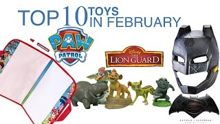 TTPM Top 10 Toys in February