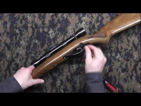 Marlin Glenfield Model 60 takedown (видео)