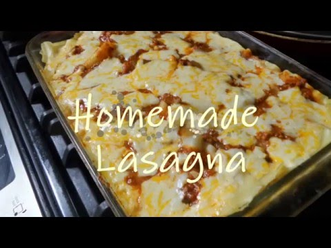 Delicious Sour Cream Lasagna!