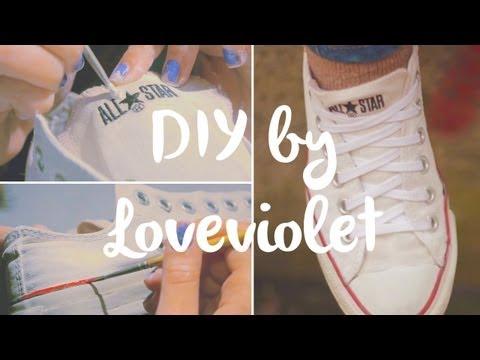 DIY: Cambiare colore alle vostre scarpe   Loveviolet