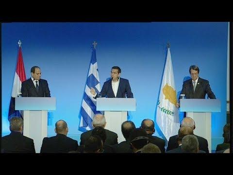 Aπόσπασμα απο την ομιλία του Αλέξη Τσίπρα στην  6η Σύνοδο Κορυφής Ελλάδας-Κύπρου-Αιγύπτου