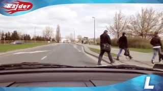 Rajder - Toruń trasy egzaminacyjne - jazda w lewo po rondzie - Rondo Czadcy - szkoła jazdy