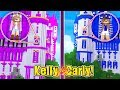 Sister Vs Sister The Most Secure Princess Base  W Little Carly And Little Kelly Minecraft
