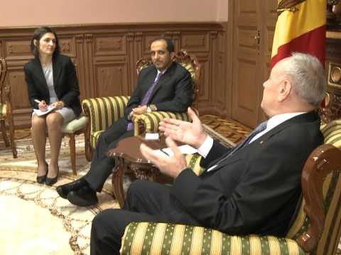 Президент Николае Тимофти встретился с Послом Объединенных Арабских Эмиратов Якубом Юсефом аль Хосани