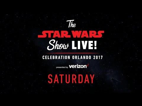 Star Wars Celebration Orlando 2017 Live Stream в Day 3  The Star Wars Show LIVE!