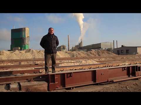 Весы на заводе «Кричевцементношифер»