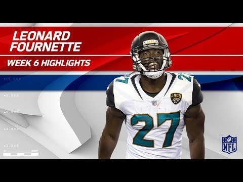 Video: Leonard Fournette's Fantastic Day w/ 130 Yards & 1 TD! | Rams vs. Jaguars | Wk 6 Player Highlights