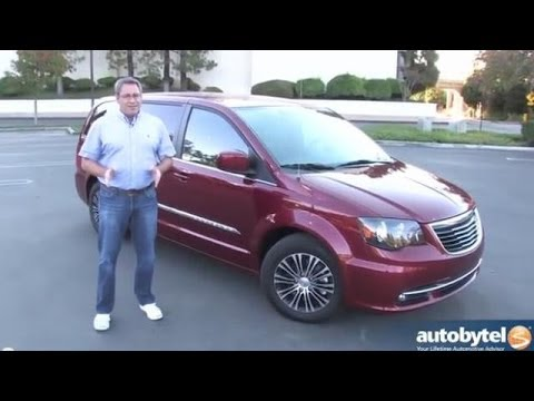 2014 Chrysler Town & Country S Minivan Review