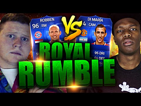 Edition - SMASH THE LIKES FOR MORE TOTY ROYAL RUMBLE?! ▻ KSI: http://www.youtube.com/KSIOlajidebt ▻ CHEAP & INSTANT COINS: http://www.fifacoinsut.co.uk ◅ ▻ USE CODE