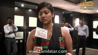 Gayathri Raghuram Speaks at Indian Badminton Celebrity League Launch