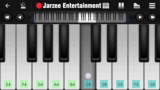 Video Aashiqui 2 theme Piano Tutorial on Mobile by Jarzee Entertainment MP3, 3GP, MP4, WEBM, AVI, FLV Oktober 2018