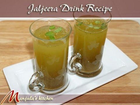 Jaljeera Drink (Indian Flavored Lemonade) Recipe