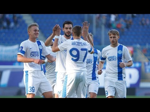 Днепр - Ильичевец 1:0. Обзор матча