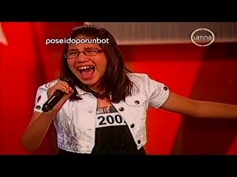 PERU TIENE TALENTO: Niña Impresiona Cantando tema de Cristina Aguilera 15/09/12