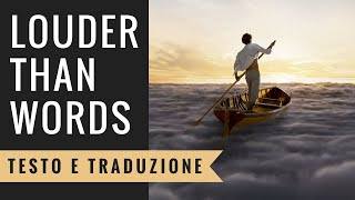 Nonton Pink Floyd   Louder Than Words  Testo E Traduzione In Italiano  Film Subtitle Indonesia Streaming Movie Download