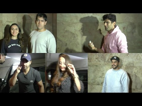 Varun Dhawan Watch Hollywood Movie With His Girlfriend
