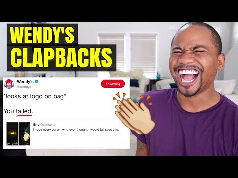 TOP 80 Wendy's CLAPBACK TWEETS (pt 3) | EPIC Roasts Of All Time