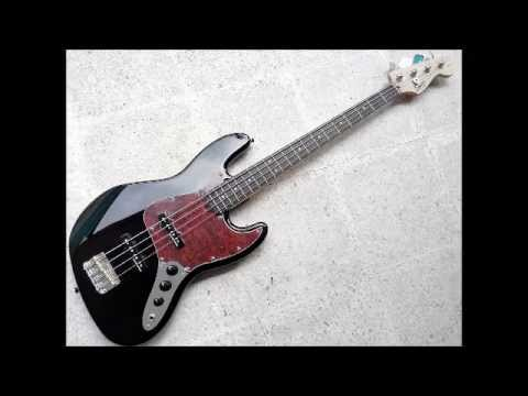 Squier Jazz Bass Affinity Series super upgraded Demo