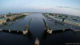 Рассвет над Петербургом