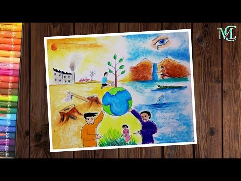 Download How To Draw Save Fuel Save Trees Save Energy Poster Draw