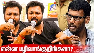 Video 'Agni Vs Devi ' Movie Release Issue : Bobby Simha ' s Open Statement | Vishal | Latest Speech MP3, 3GP, MP4, WEBM, AVI, FLV Maret 2019