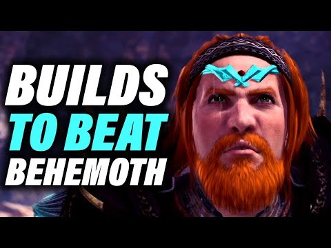 BEHEMOTH BUILDS - DAMAGE , SUPPORT & TANK - Monster Hunter World