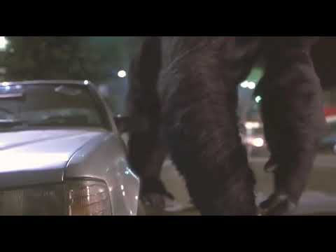 Mighty Joe Young ~ Joe smashes a car and climbs the Chinese building