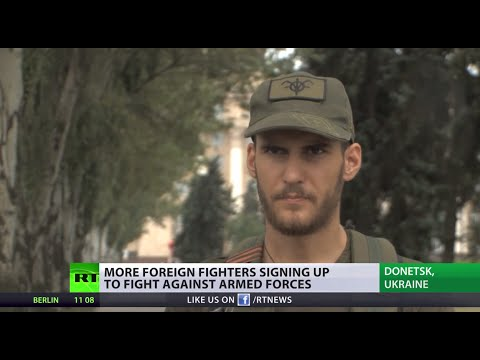 %27For a good cause%27%3A Foreign fighters join anti-Kiev militia in E. Ukraine