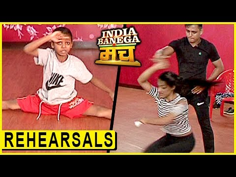 India Banega Manch Contestants Rehearsal |