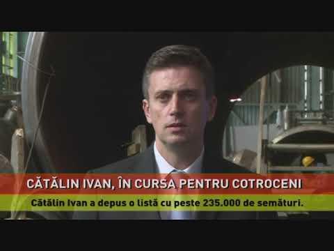 Cătălin Ivan s-a înscris în cursa pentru Cotroceni