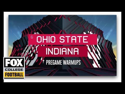 Video: Ohio St. at Indiana Pregame Warmups | FOX COLLEGE FOOTBALL